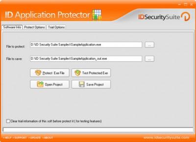 ID Application Protector 1.2 screenshot
