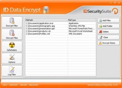 ID Data Encrypt 1.2 screenshot