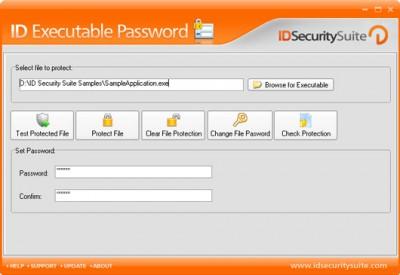 ID Executable Password 1.2 screenshot