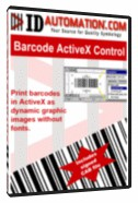 IDAutomation Barcode ActiveX Control & OCX 4.8 screenshot