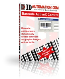 IDAutomation Barcode ActiveX Control 11.03 screenshot