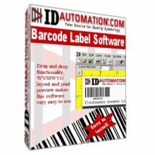 IDAutomation Barcode Label Software 5.06 screenshot