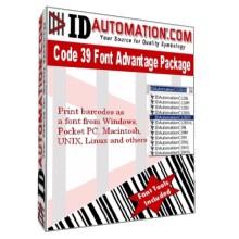 IDAutomation Code 39 Barcode Fonts 6.06 screenshot