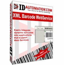 IDAutomation XML Barcode Webservice 9.9 screenshot
