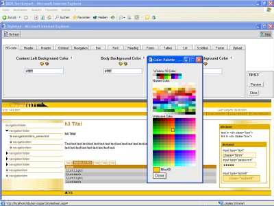 IDOS 3.1 screenshot