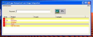II_Auftrags-Stempelzeit 3.1 screenshot