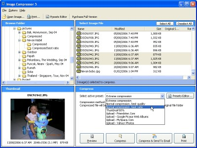 Image Compressor 5 Lite Edition 5.1 screenshot
