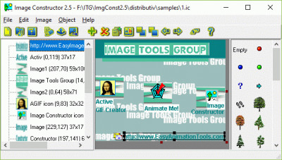 Image Constructor 2.5 screenshot