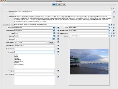 Image Info Toolkit 3.0 screenshot