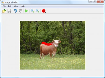 Image Mender 1.22 screenshot