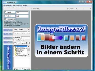 ImageBlizzard 1.0 screenshot