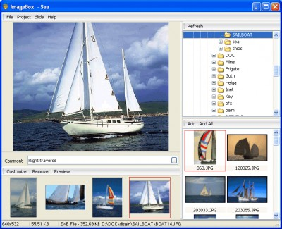 ImageBox 1.5 screenshot