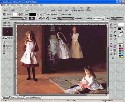 ImageForge PRO for Art, Images, Photos 3.62 screenshot