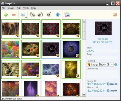ImagePut 1.2 screenshot