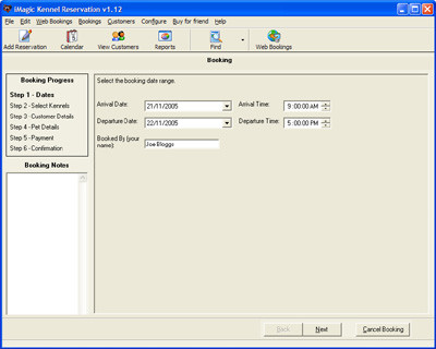 iMagic Kennel Reservation 2.14 screenshot