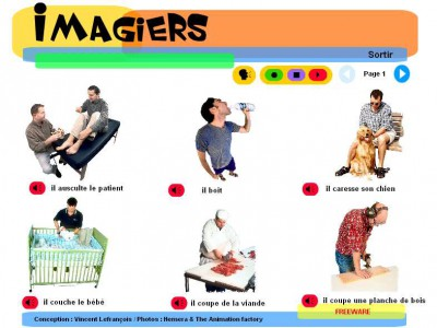Imagiers - Learn French 1.3 screenshot