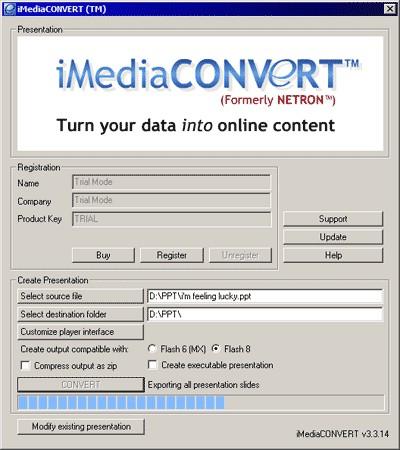 iMediaCONVERT 3.3.20 screenshot
