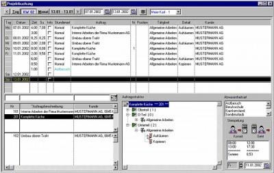 INCREDIBLE - Die projektbezogene Zeiterfassung. 2.0.5 screenshot