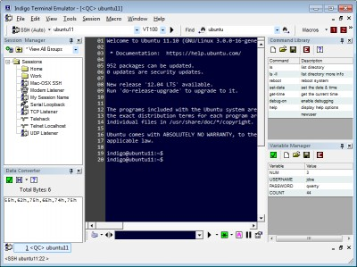 Indigo Terminal Emulator 3.0.161 screenshot
