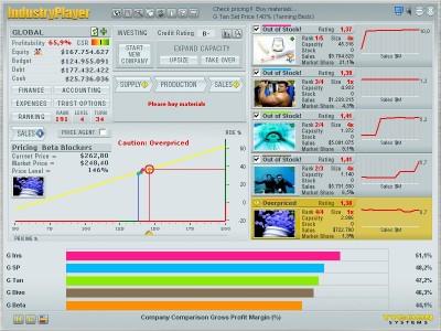 Industryplayer - Online Tycoon Game 4.402 screenshot