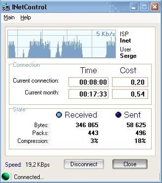 INetControl 1.4 screenshot