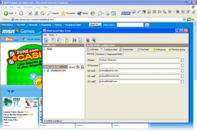 iNetFormFiller Free 3.6.11 screenshot