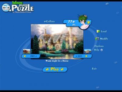 Infinite Jigsaw Puzzle 1.6 screenshot