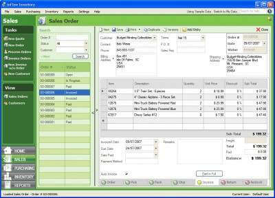 inFlow Inventory   Free Edition 1.0.0.0 screenshot