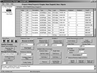 InnerSoft CAD for AutoCAD 2005 2.2a screenshot
