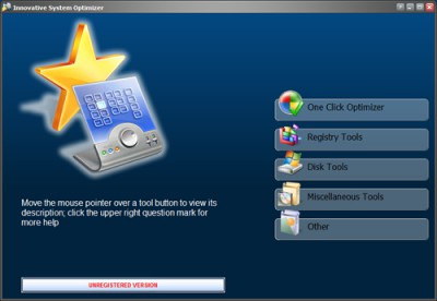Innovative System Optimizer 4.0 screenshot