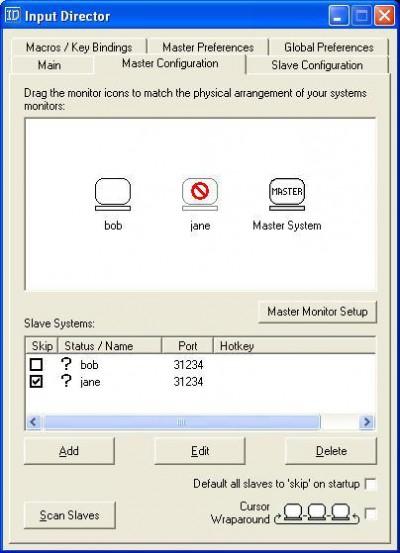 Input Director 2.0 screenshot