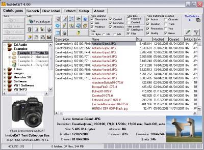 InsideCAT Lite Edition 5.02 screenshot