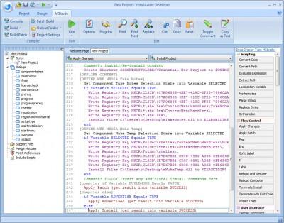 InstallAware Developer Setup Builder X2 screenshot