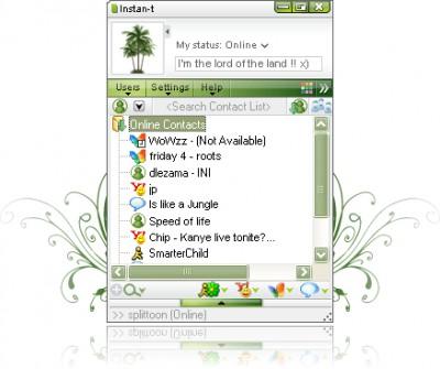Instan-t 5.0 screenshot