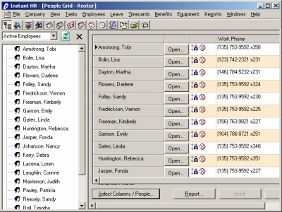 Instant FMLA Software 3.0 screenshot
