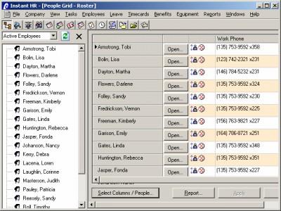 Instant HR Software 3.0 screenshot