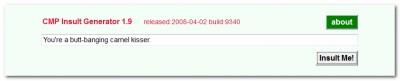 Insult Generator 1.9 screenshot