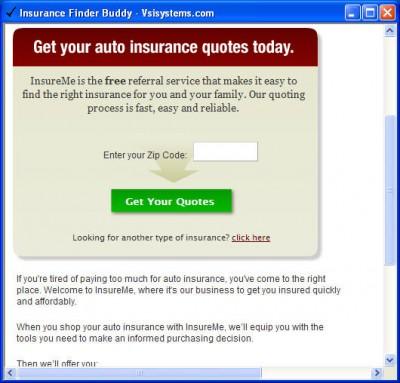 Insurance Buddy 2.1 screenshot