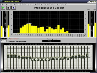 Intelligent Sound Booster 3.71 screenshot
