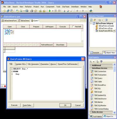 InterBase Data Access Components for Delphi 7 4.00 screenshot