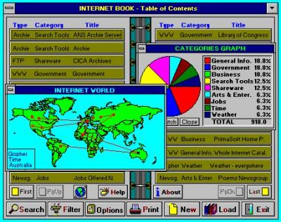 Internet Book 5.1 screenshot