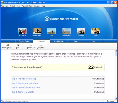 Internet Business Promoter (IBP) 10.0 screenshot