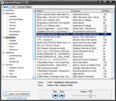 InternetPlayer 1.102 screenshot