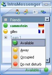 IntraMessenger 1.31A screenshot
