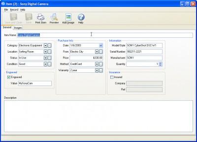 InventoryBuilder 3.0 screenshot