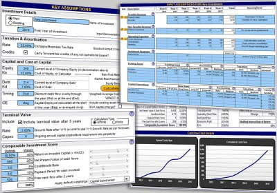 Investment and Business Valuation 3.2 screenshot