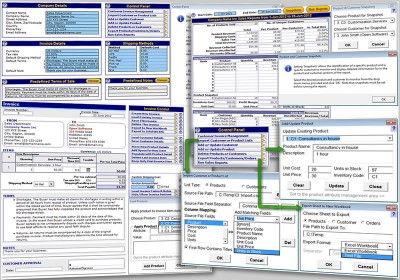 Invoice Template for Excel 3.2 screenshot