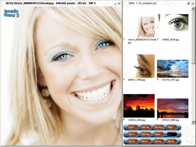 Inzomia viewer 3.11 screenshot