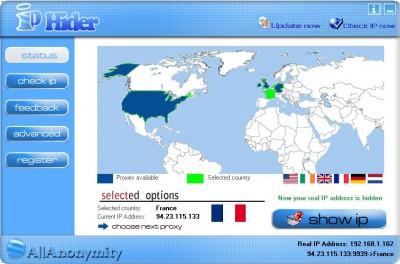 IP Hider 4.95 screenshot
