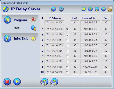 IP Relay Server 4.0 screenshot